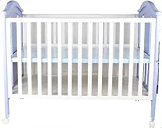 سرير اطفال خشبي - ابيض