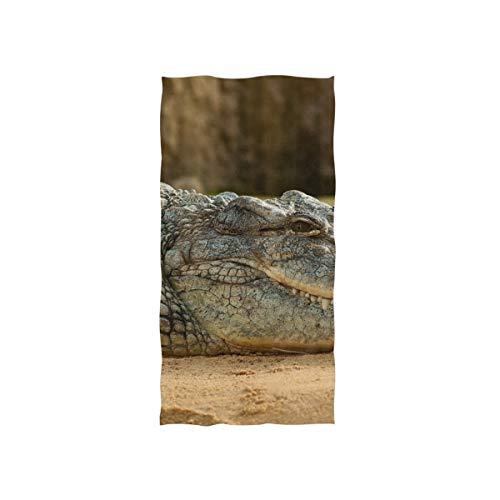 MONTOJ Toalla de Entrenamiento de cocodrilo Resistente, Muy Absorbente
