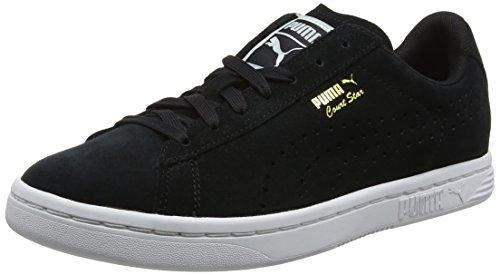Puma Unisex-Erwachsene Court Star Suede Sneaker, Schwarz Black 1, 42.5 EU