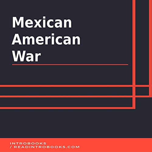Mexican American War audiobook cover art