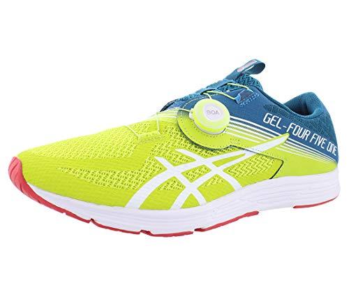 ASICS Men's GEL-451 Running Shoes, 7.5M, NEON Lime/White