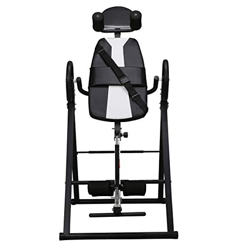 Best Price motawator Heavy Duty Inversion Table with Adjustable and Foldable for Body Sculpture Fitn...