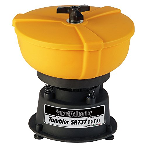 Smartreloader SR737 Tumbler Nano 220V - Vibropulitore per bossoli e Piccoli Oggetti Metallici