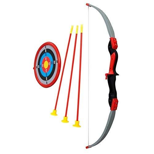 Joe Joe Kid's Archery Bow and Arrow Toy Shooting Target Game Indoor/Outdoor