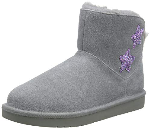 Koolaburra by UGG Kid's Koola Star Mini Classic Boot, Wild Dove, 35 EU