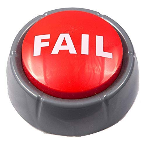 Epic Fail Button | Sad Trombone Sound Effect Button (Batteries Included)