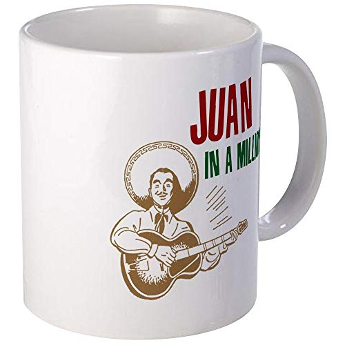 NA Taza de café única de Juan Mugs, Taza de café