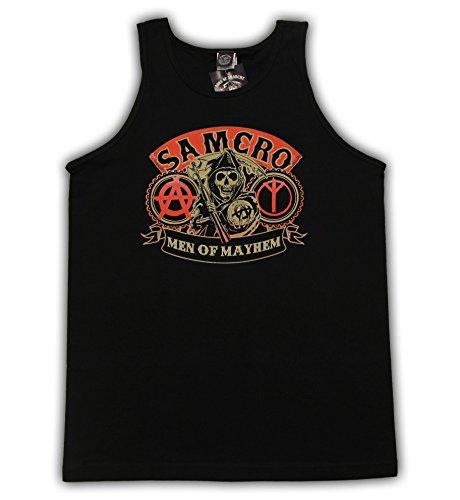 Sons of Anarchy - Camiseta de tirantes - para hombre negro Large