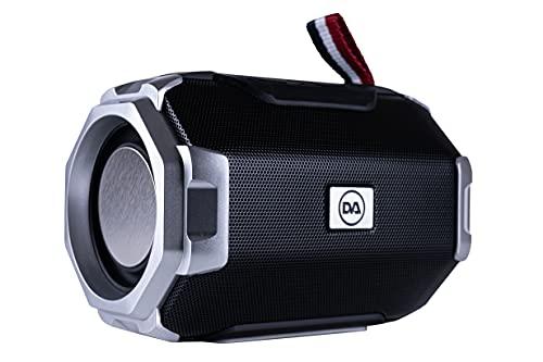 DAEWOO DIBT2626 Mini altoparlante Bluetooth senza fili | Radio FM | Scheda SD | USB | AUX | Altoparlanti 5W | Batteria ricaricabile agli ioni di litio da 1200 mAh | Trasmissione 10m