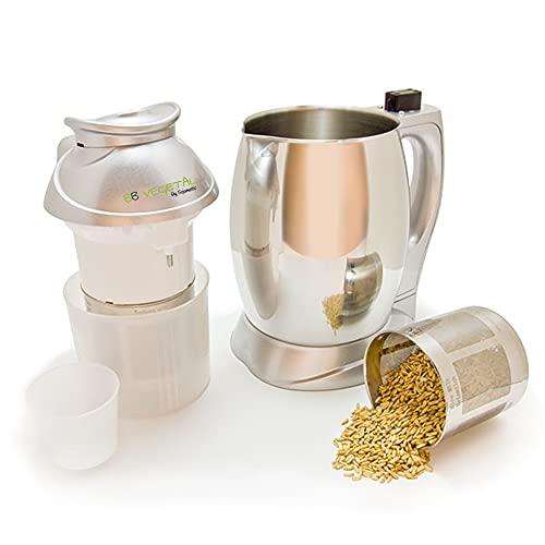 BB VEGETAL Di Sojamatic. Macchina per fare bevande vegetali fatte in casa e bevande filtrate. Prepara latte vegetale, senza zuccheri aggiunti da legumi, semi, cereali e noci.