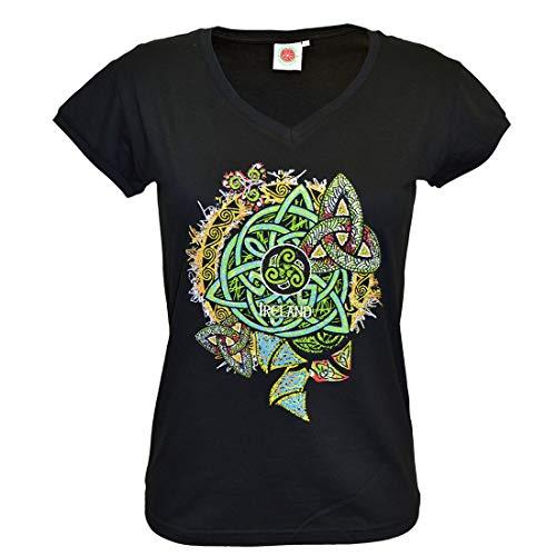 Traditional Craft Damen T4185 T-Shirt, Schwarz, XXL