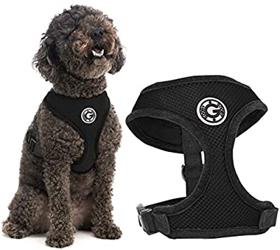 Gooby Soft Mesh Harness for Small Dogs