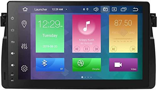hizpo Android 10 Autoradio per bmw E46 Classe/Rover 75/MG ZT per bmw Radio Bluetooth 4+64GB Comandi al Volante Retrocamera Ingresso USB SD Wifi 4G DVR RDS DSP GPS DAB+ Collegamento Speculare