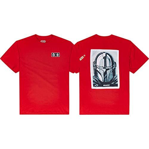 Element - Star Wars Mando Short Sleeve Fire Red - XX-Large