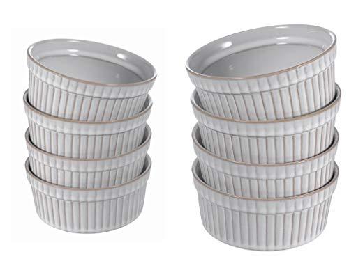 Ninepeak Baking Dish Lasagna Pan, Ceramic (4.5 Inch x 4.5 Inch)