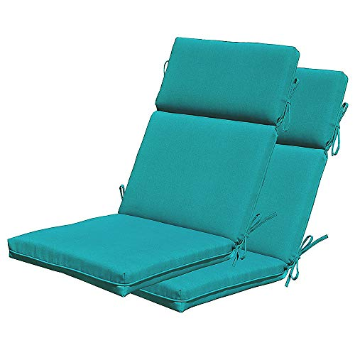 SewKer Outdoor/Indoor Adirondack Chair Cushions, High Back...