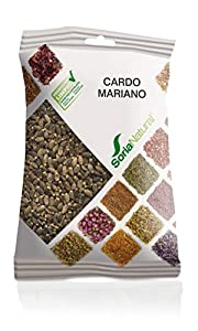 Soria Natural Cardo Mariano Semillas Bolsa, Blanco, 75 Gramos