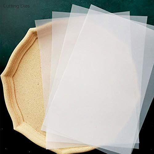 2019 20 stks/partij A4 Transparant Velijn Papier Voor Scrapbooking Diy Gelukkig Planner Foto Allum Card Making Journaling Project, 20 stks