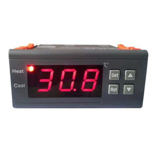 12v LED Digital Pantalla Del Termostato Regulador De Temperatura W / Mh1210a Sensor