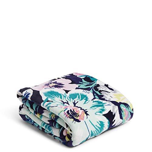 Vera Bradley Fleece Plush Throw Blanket, Garden Grove, 80' x 50'