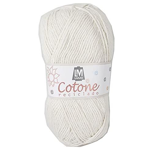 Cotone de LM en ovillos de 100 gramos y 155 metros, para tejer con agujas del 4 - 5 o ganchillo del...