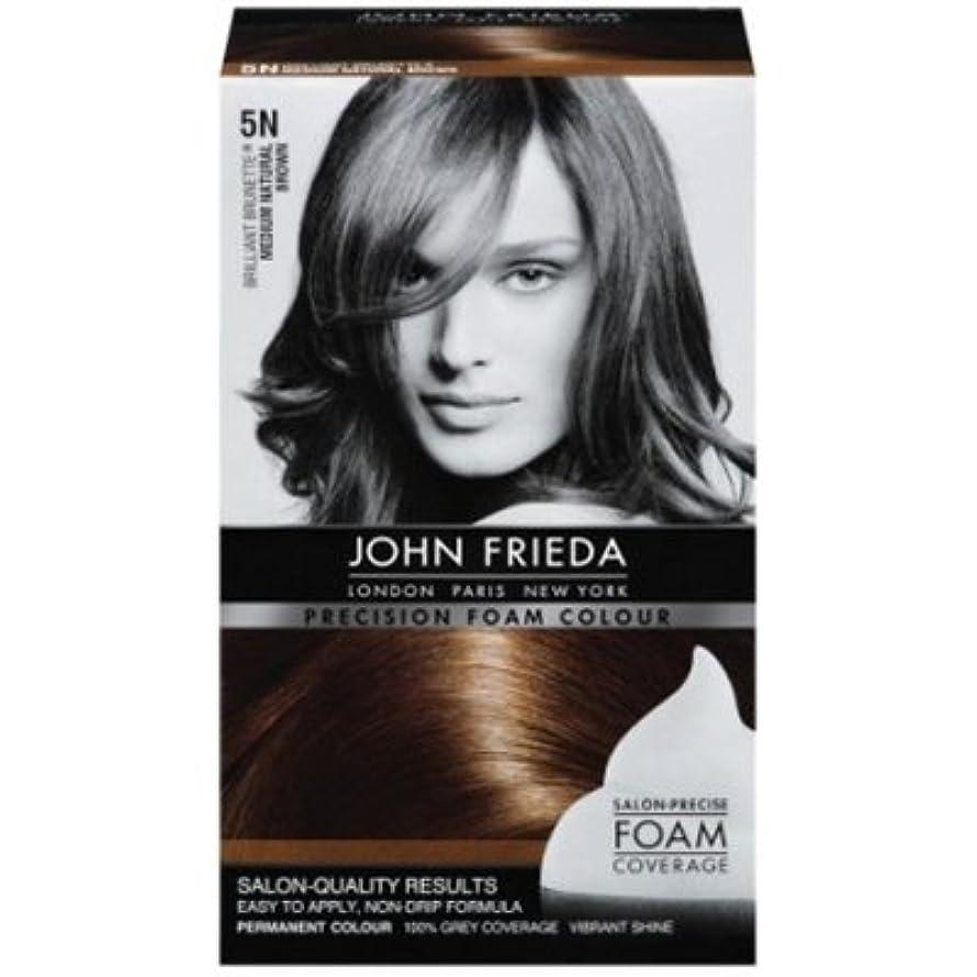 John Frieda Precision Foam Colour 5N Med. Nat. Brown (6 Pack)