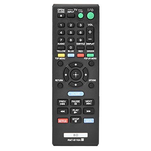 Vervanging afstandsbediening voor Sony Blu-ray-speler BDP185C / BDPBX18 / BDPBX3100 / BDPS185, Lange afstandstransmissie Multifunctionele tv-afstandsbediening