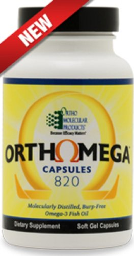 Orthomega 820 Capsules - New Formulation - 60 Softgel Capsules