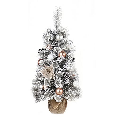 shelf Navidad artificial flocado, 30 cm, 45 cm, 60 cm, 90 cm,...