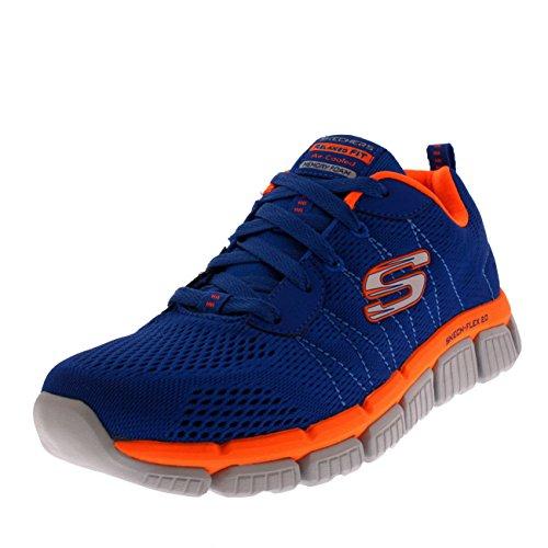 Skechers Jungen Skech Flex 2.0 - Quick Pick Sneaker, Schwarz Lime, 28 EU