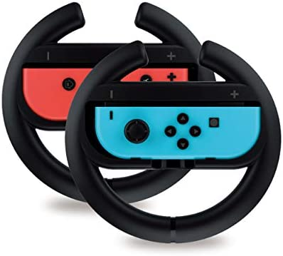 Steering Wheel Controller for Nintendo Switch 2 Pack by TalkWorks Racing Games Accessories Joy product image