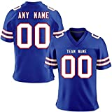 Custom Football Team Game Jersey Alternate Jerseys Personalized Stitched Jerseys for Men/Women/Youths Gift Fans