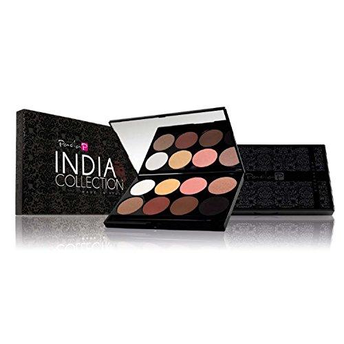 PaolaP Palette Fards à Paupières INDIA 8 coloris