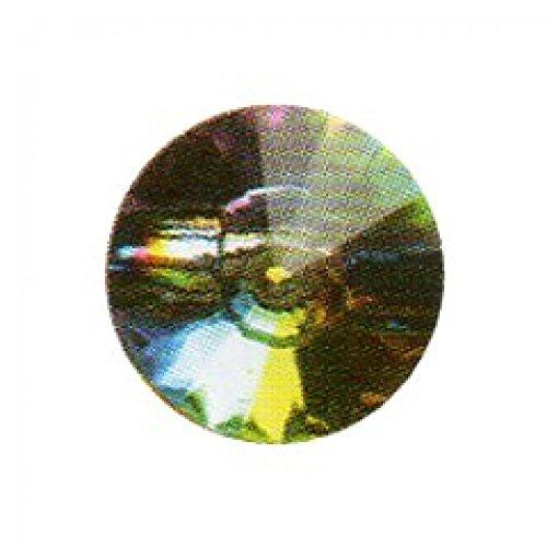 Ourlet rond avec des facettes-Bouton 15 mm Multi-Lot de 3