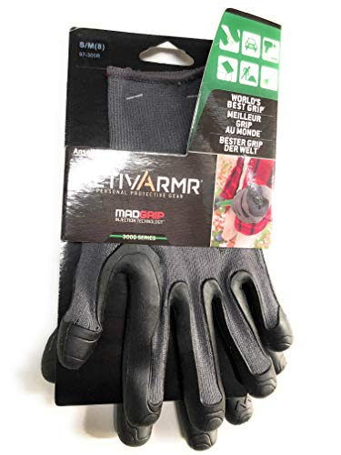1 Paar MADGRIP ACTIVARMR 97-300-R Handschuhe Größe S/M (8)