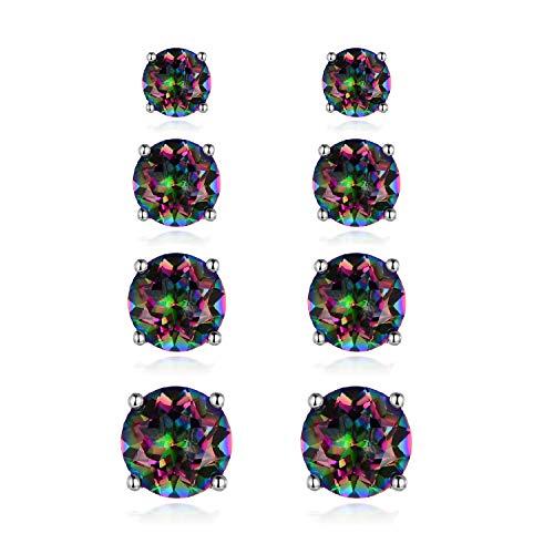 Rainbow Quartz Earrings by Voluka