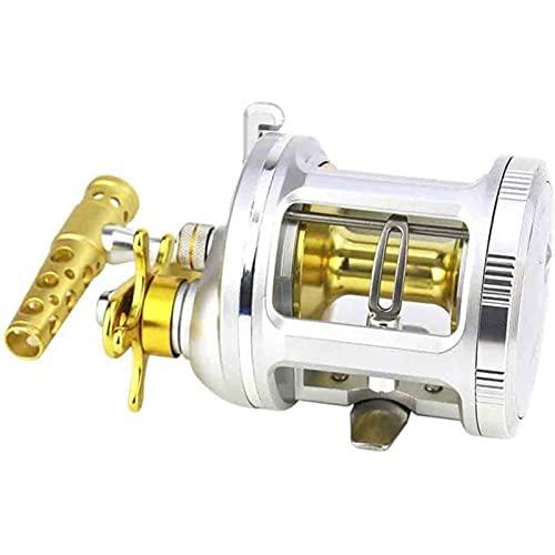 ZKLL Carrete De Pesca - New Spinning Reel - Fibra De Carbono LBS MAX Drag BB De Acero Inoxidable para Agua Salada O Agua Dulce - Eje De Gran Tamaño - Super Valor (Size : 1000)