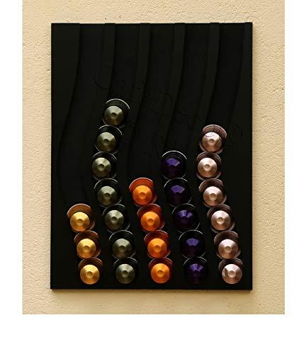Capstores Accessori Porta-capsule Nespresso capsules 50 (nero)