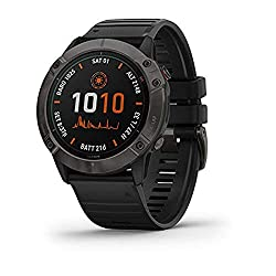 garmin solar powered tactical watch - best smartwatch for hunting