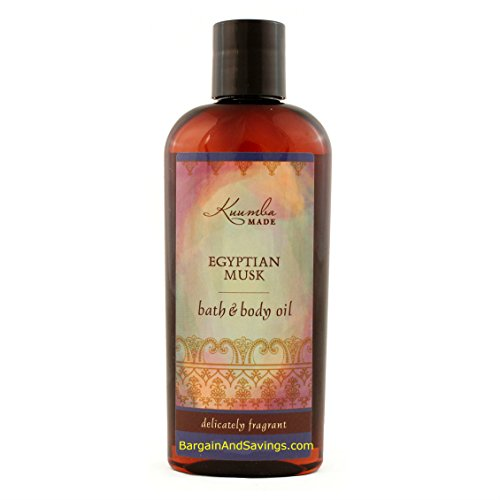 Kuumba Made Bath and Body Oil (Egyptian Musk, 6oz (177.44ml) [regular size]) by Kuumba Made Body Oil