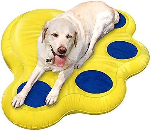 LICCC Starker aufblasbarer Haustier-Sich hin- und herbewegender Reihen-   Wasser-Oberfl enschwimmbett-   Luftkissen-Schwimmring PVCs