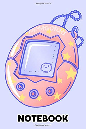 Tamagotchi Memories Notebook: (110 Pages, Lined, 6 x 9)