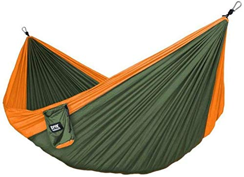 kaige Nylon Hilado de Nylon de paracaídas de Tela de Viajes Hamaca Acampar Swing, 4 WKY (Color : 4)