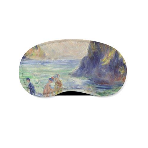 Renoir Guernsey Schilderij Slapen Masker Reizen