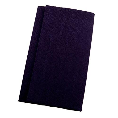 正絹綸子金封ふくさ 紙箱入 慶弔両用金封袱紗 結婚式 冠婚葬祭 男性用 女性用 (紫) シルク
