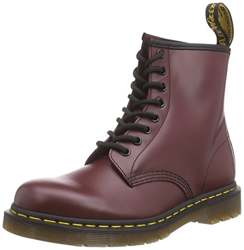 Dr. Martens 1460 Smooth, Stivali Unisex - Adulto, Rosso (1460 Smooth 59 Last Cherry Red), 39 EU