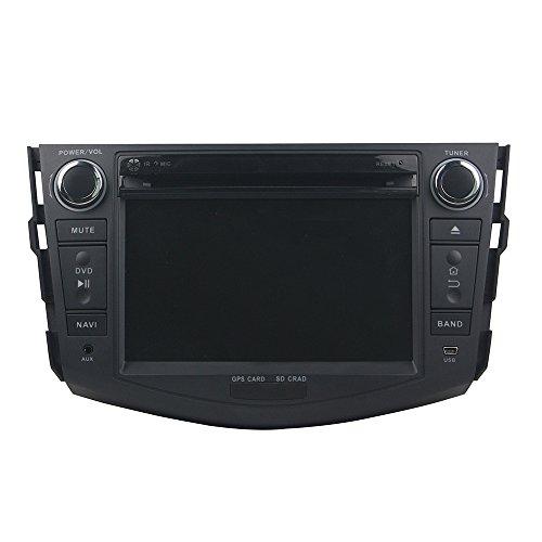Android 9.0 Octa Core Autoradio Voiture GPS Lecteur Multimédia DVD Radio stéréo Toyota RAV4 2006 - 2012 soutient Commande au Volant WiFi Bluetooth sans Carte SD