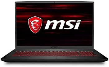 "MSI GF75 17.3"" Gaming Laptop Intel Core i7-9750H 8GB RAM 256GB SSD 120Hz GTX 1050 Ti Aluminum Black"