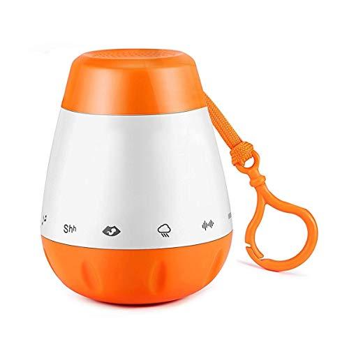 Einschlafhilfe Baby Und Kleinkind mit 6 Beruhigender Geräuschen- White Noise Machine Als Schlafhilfe USB-Aufladung für Zuhause, Baby & Reisen