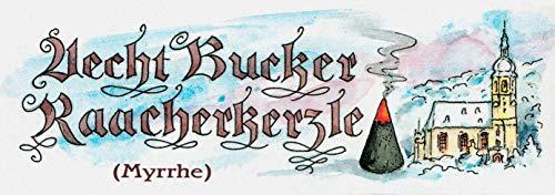 Dregeno Erzgebirge - Bucker Räucherkerzen (24) Myrrhe